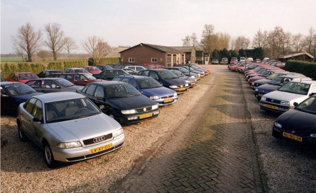 Autobedrijf Gert Pater in de jaren 90