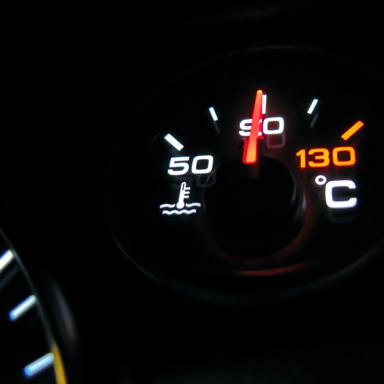 Rijden met hoge temperaturen, wat te doen?