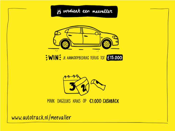 AutoTrack Meevaller actie | Autobedrijf Gert Pater